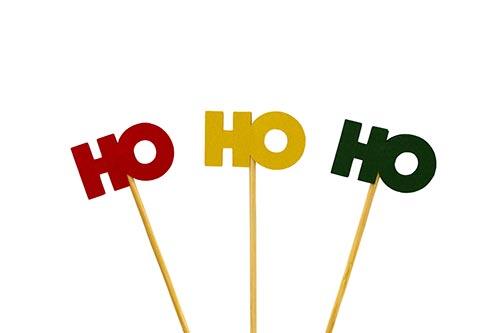 HO-HO-HO-stock-image