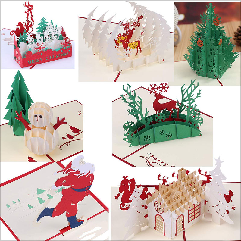 Holiday-Pop-Up-3D-Christmas-Greeting-Cards-2018