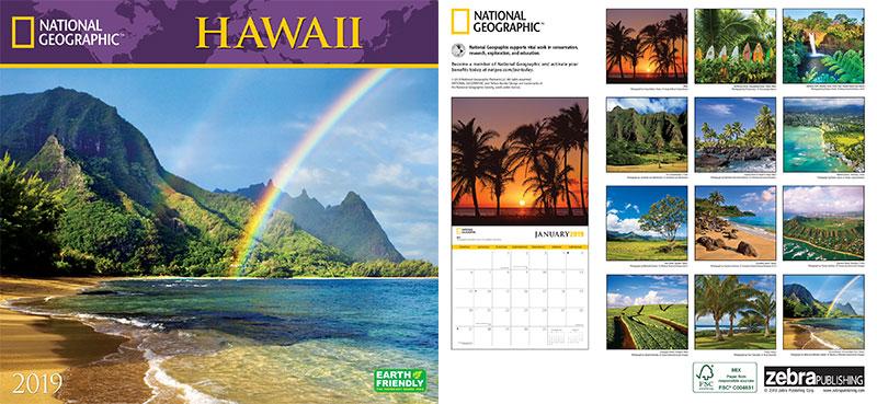 National-Geographic-Hawaii-2019-Wall-Calendar