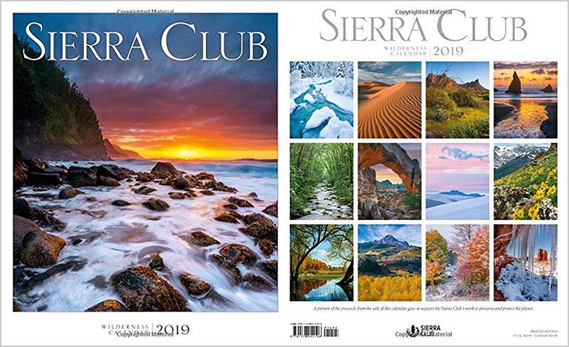 Sierra-Club-Wilderness-Calendar-2019