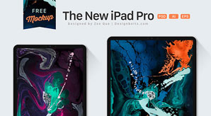 The-New-iPad-Pro-Mockup-PSD-2018