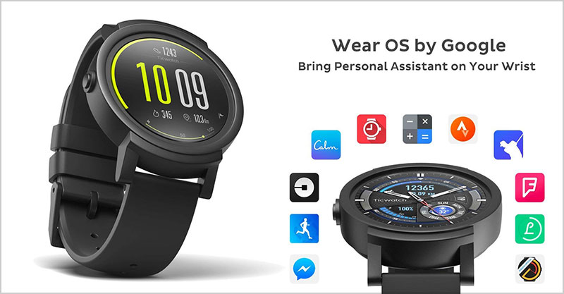 Ticwatch-E-most-comfortable-Smartwatch
