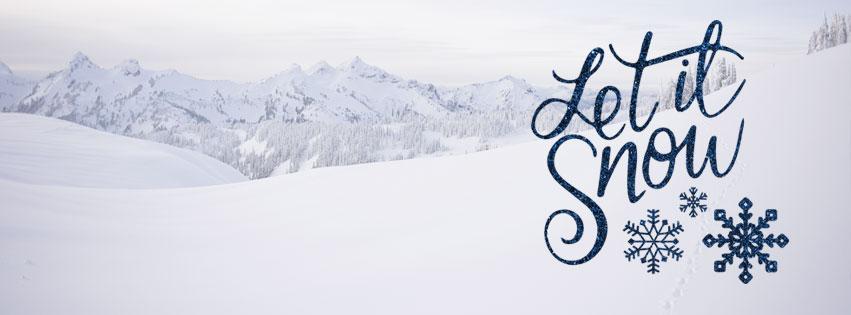 let it snow cover photo