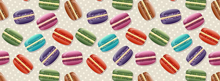 macaron-cover photo for christmas