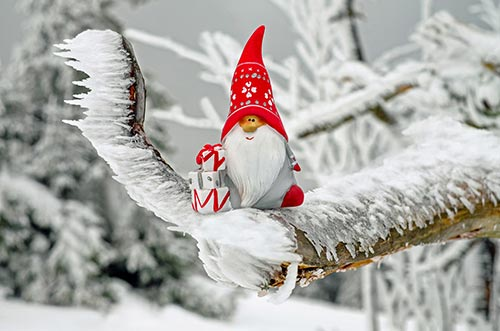 santa-claus-dwarf-gnome-stock-image