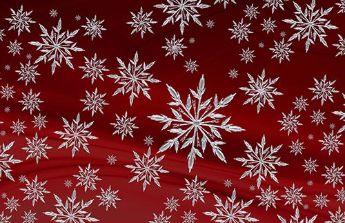 snow-flakes-stock-image