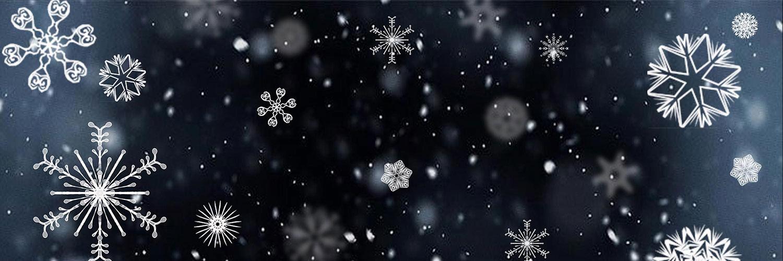 snowflakes-Twitter Header Banner