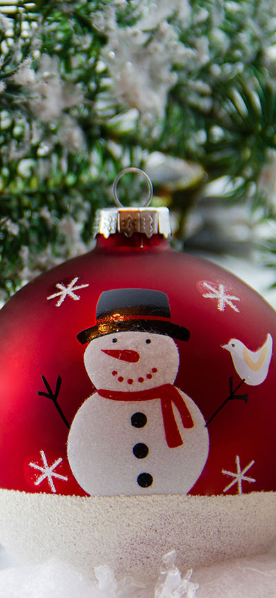 snowman-iPhone-Xs-Max-Wallpaper