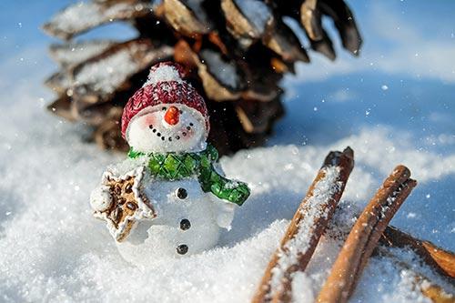 snowman-stock-image