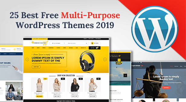 25-Best-Free-Latest-Multi-Purpose-WordPress-Themes-2019