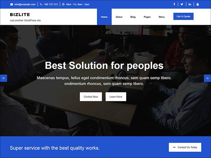 Bizlite-clean-and-uniquely-designed-Business-theme-for-wordpress