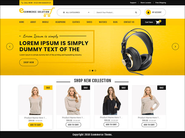 Ecommerce-Solution-multipurpose-WordPress-eCommerce-theme-2019