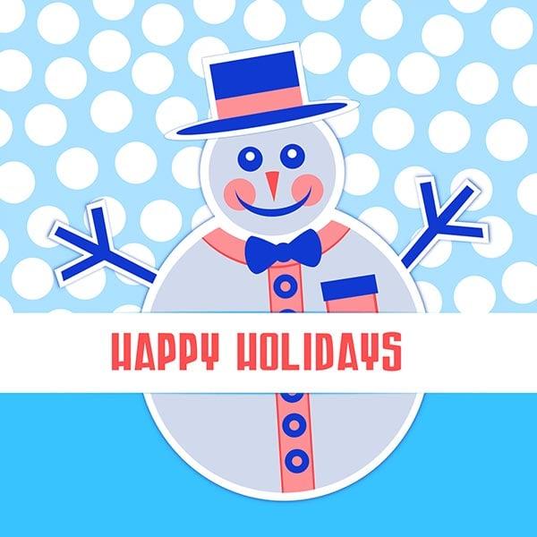 Happy-Holidays-Snow-Man-Image