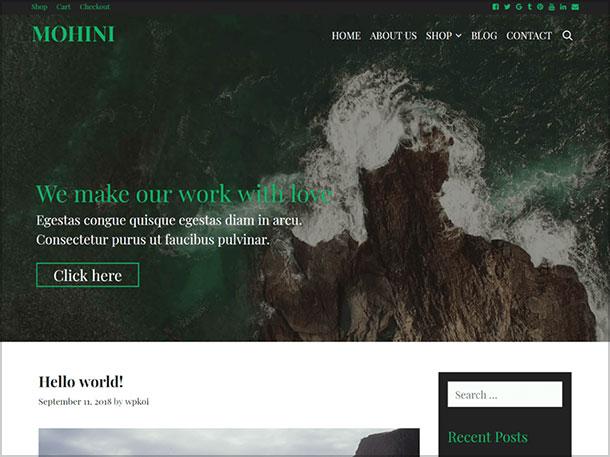 Mohini-GPL-licensed-Multipurpose-2019-WP-Theme