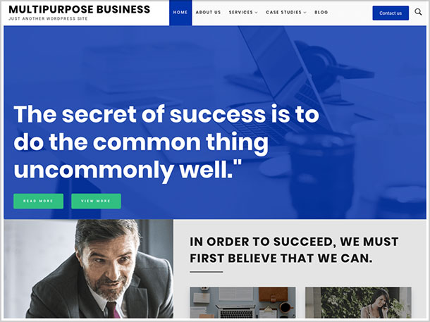 Multipurpose-Business-free,-SEO-optimized-Elegant-WordPress-theme-2019