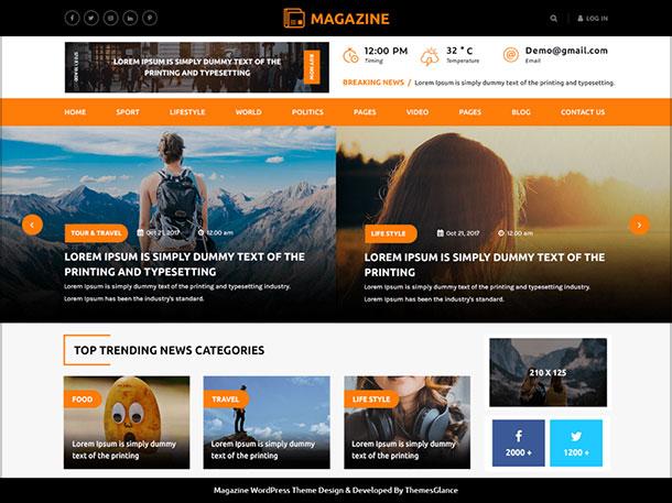 Multipurpose-Magazine-feature-full-WordPress-magazine-theme-2019