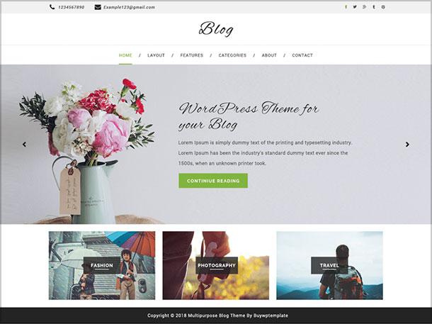 Multipurpose-blog-beautiful-minimal-blog-theme-designed-for-bloggers-2019