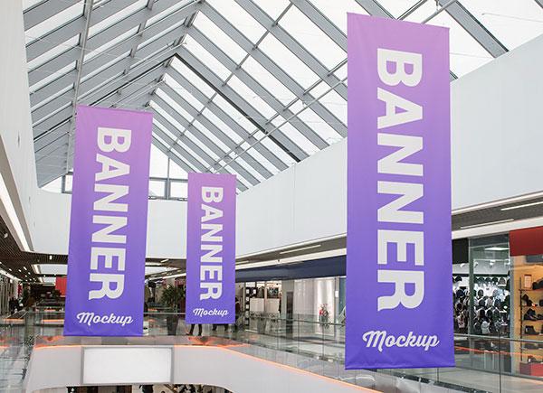 2-Free-Shopping-Center-Hanging-Banner-Mockup-PSD-Set