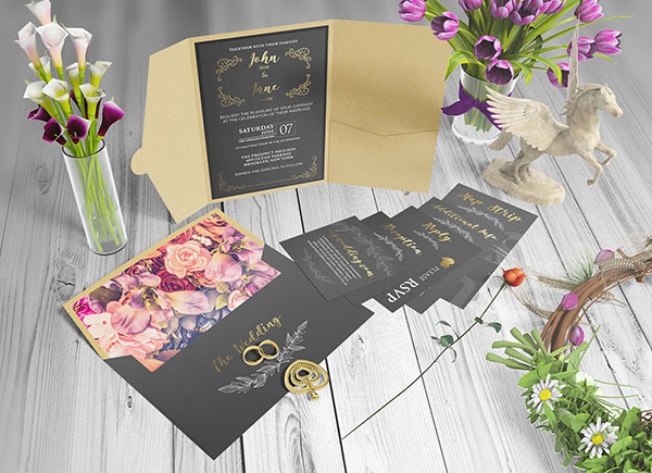 Free-Beautiful-Wedding-Invitation-Card-Mockup-PSD-Set