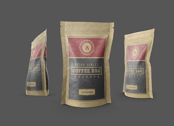 Free-Kraft-Paper-Coffee-Bag-Standing-Pouch-Mockups-PSD-Set-2