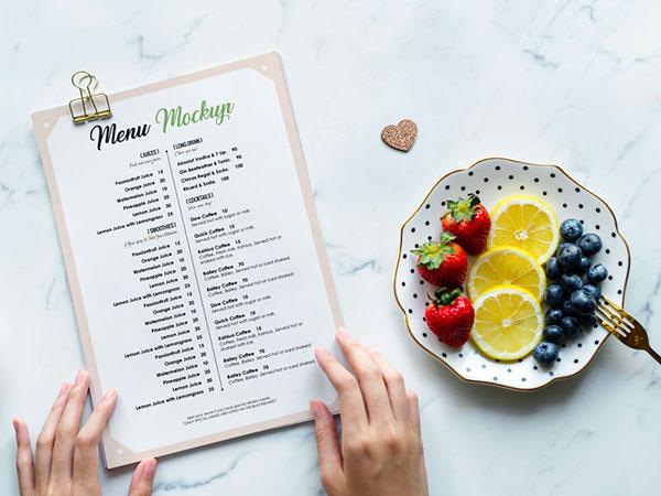 Free-Restaurant-Menu-Flyer-Mockup-PSD-1