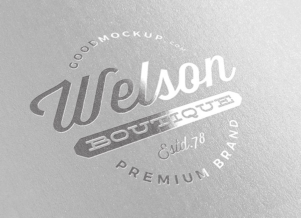 Free-Silver-Foil-Printed-Logo-Mockup-PSD