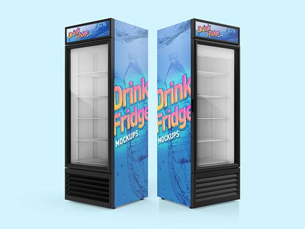 Free-Soft-Drinks-Fridge-Refrigerator-Mockup-PSD-Set-5