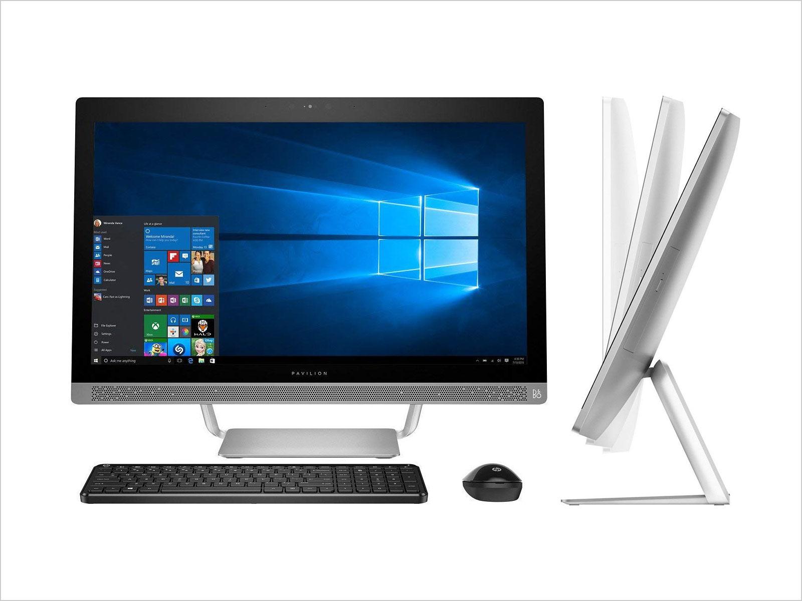 Premium-HP-Pavilion-27-Full-HD-IPS-Touchscreen-All-in-One-Desktop