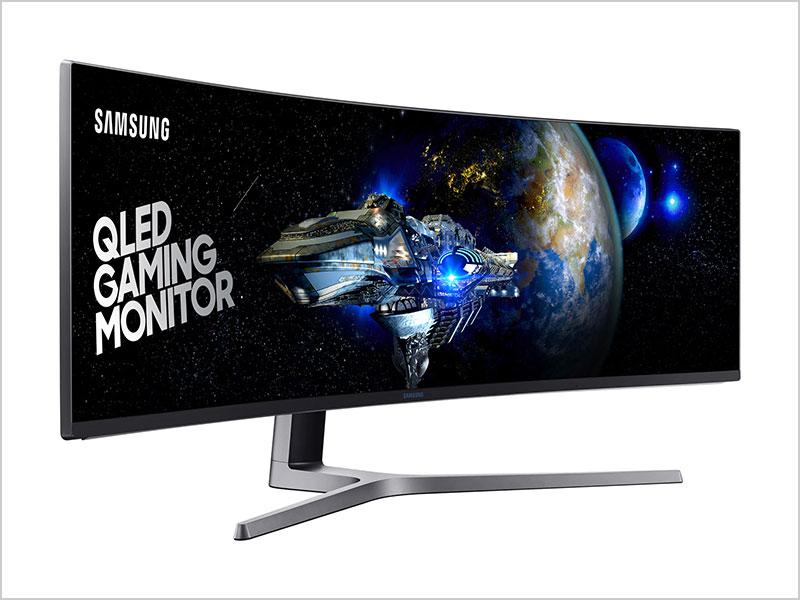 Samsung; 49 CHG90 QLED Ultrawide Curved Gaming Monitor