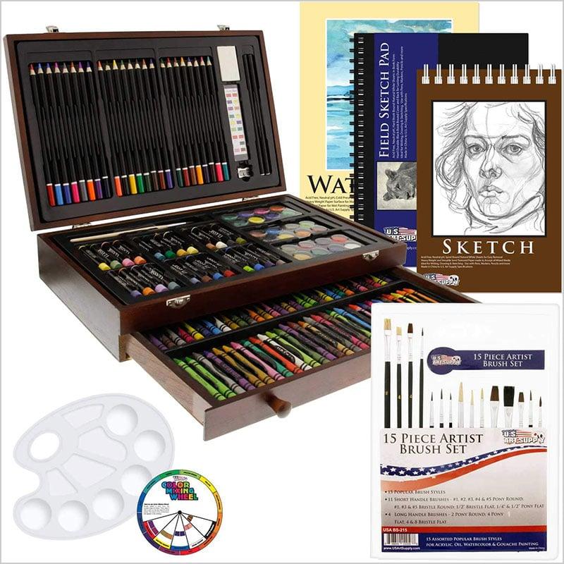 US-Art-Supply-162-Piece-Deluxe-Mega-Wood-Box-Art