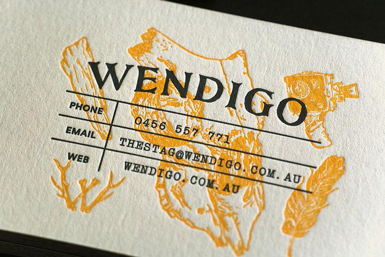 Wendigo_Letterpressed-Business-Card-2