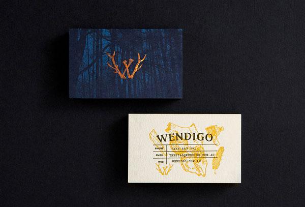 Wendigo_Letterpressed-Business-Card