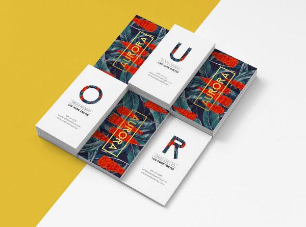 aurora-Business-cards