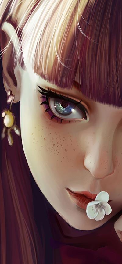 beautiful-_girl-iPhone-X-Wallpaper