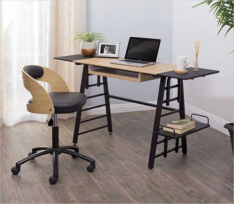 Calico-Designs-51240-Convertible-Art-Drawing-Computer-Desk