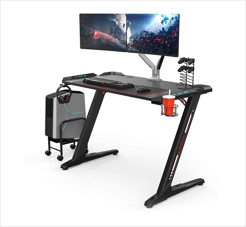 Eureka-Ergonomic-Z1-S-Gaming-Desk-–-Gaming-Computer-Desk