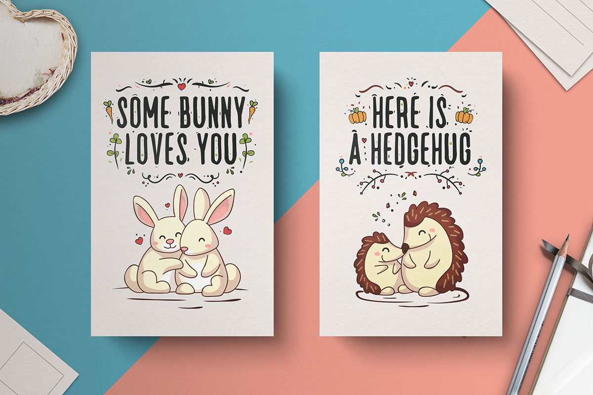 Free-Hand-Drawn-Valentine's-Day-Cards-2