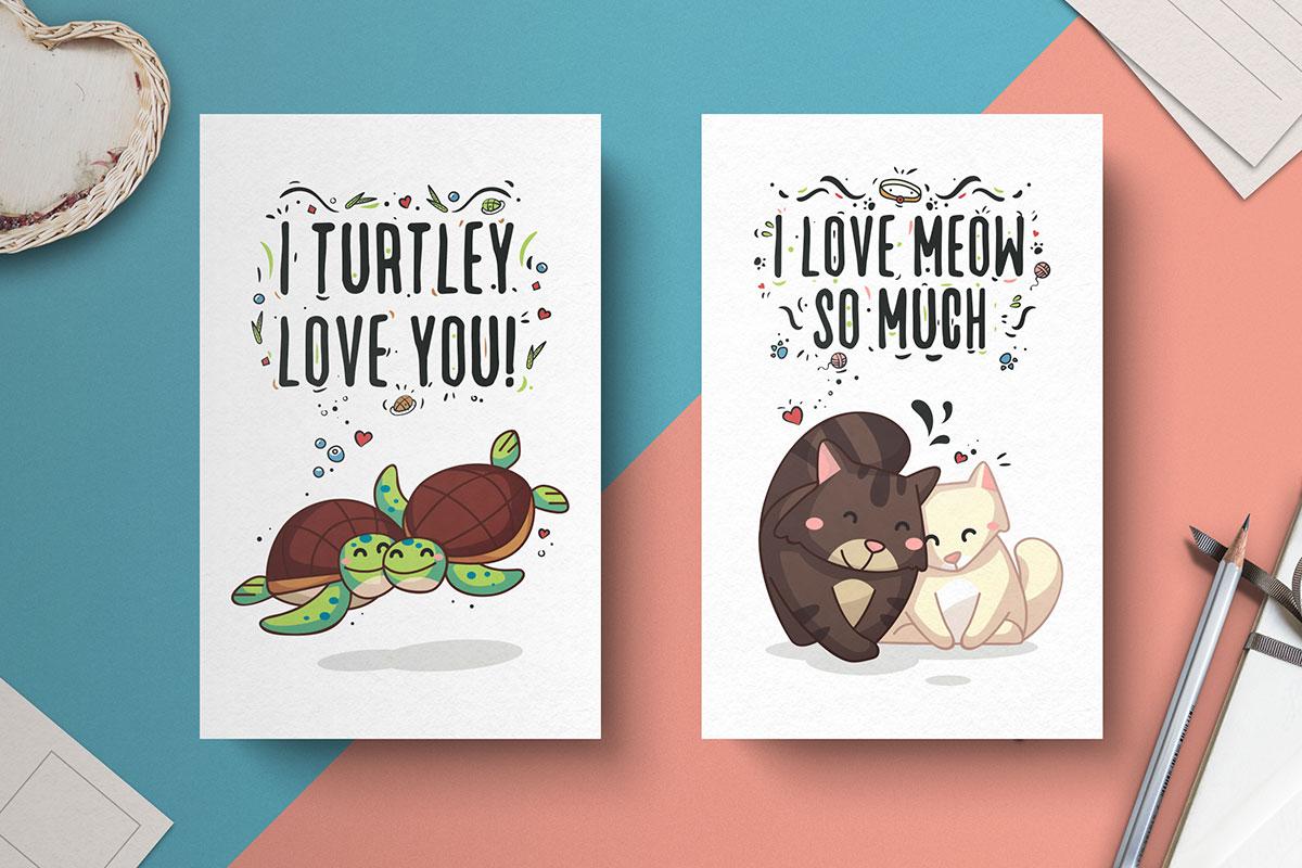 Free-Hand-Drawn-Valentine's-Day-Cards-3