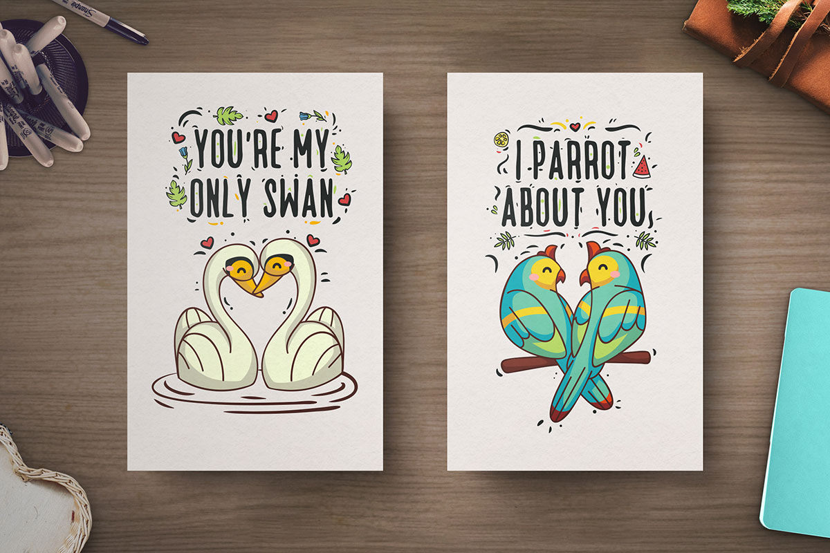 Free-Hand-Drawn-Valentine's-Day-Cards-4
