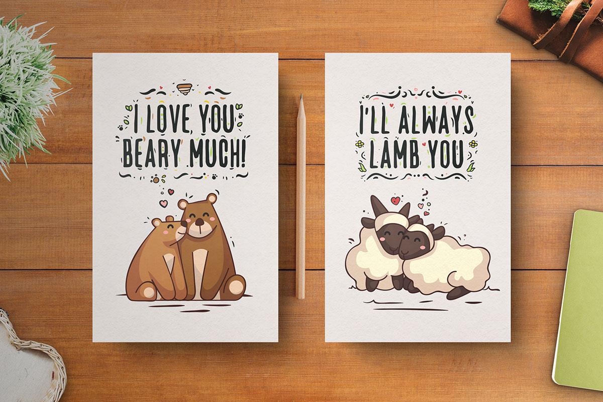 Free-Hand-Drawn-Valentine's-Day-Cards-5