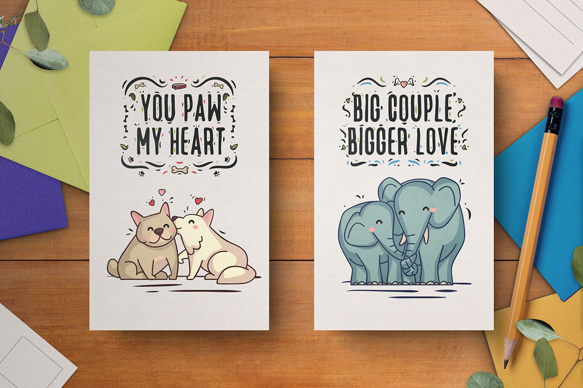 Free-Hand-Drawn-Valentine's-Day-Cards-8