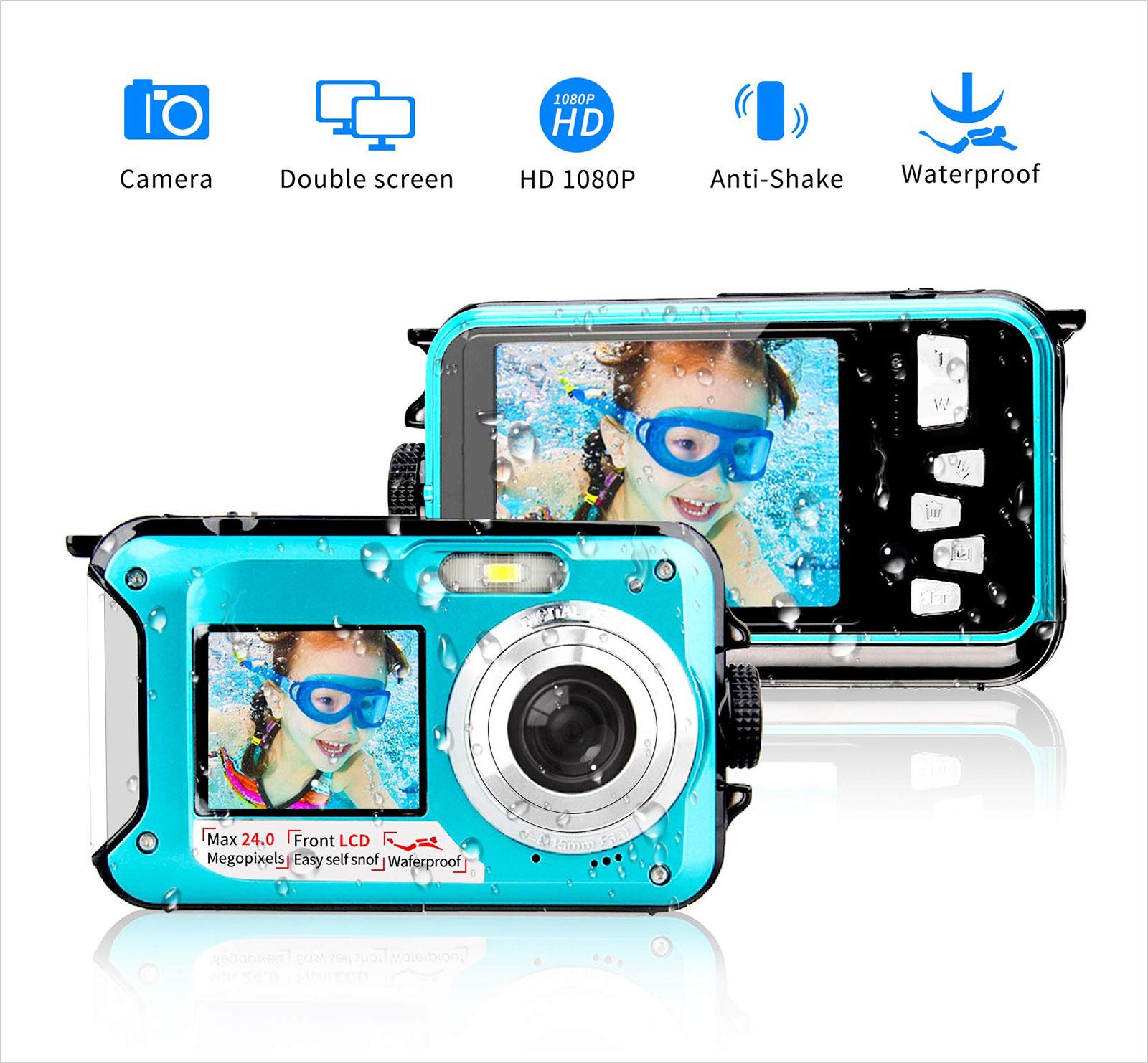 Underwater-Camera-24.0MP-Waterproof-Digital-Camera