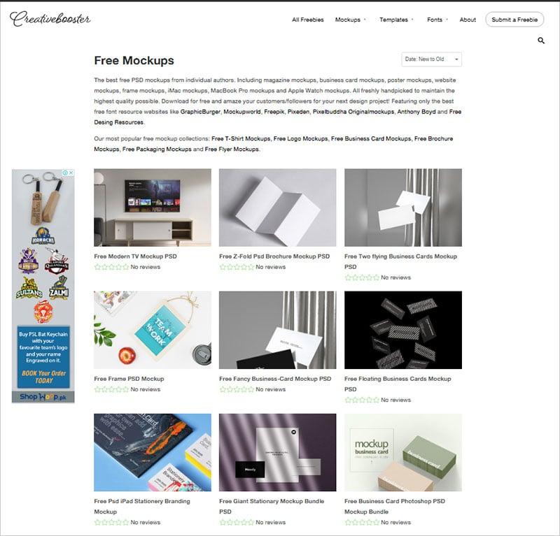 creativebooster.net-Free-mockup-Website