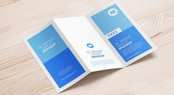 10 All Time Best Free Tri-Fold Brochure Mockup PSD Files