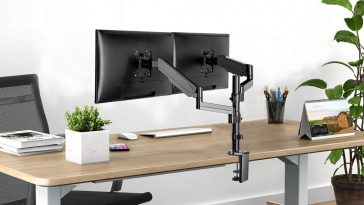 10-Best-Dual-Arm-Monitor-Desk-Mount-Stands-for-Designers-and-Video-Editors