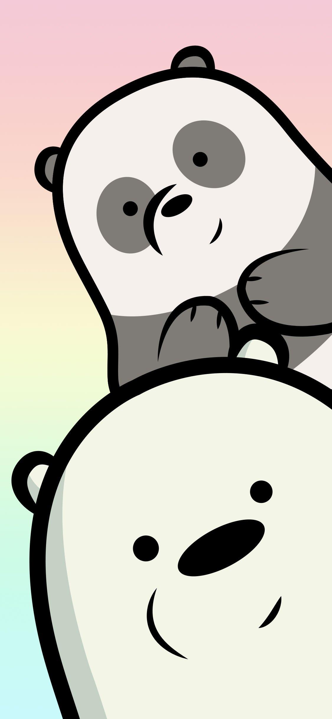 We Bare Bears Desktop Mobile Wallpapers Vector Ai Eps