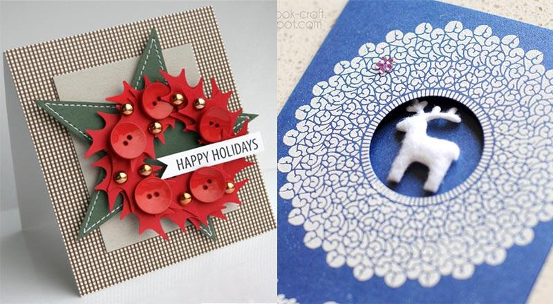 50 Beautiful Diy Handmade Christmas Card Ideas For 2019 Designbolts