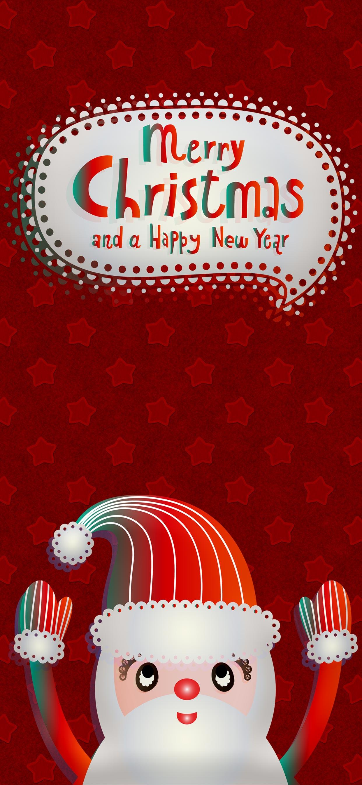 christmas santa iPhone 11 Pro Max Wallpaper 1