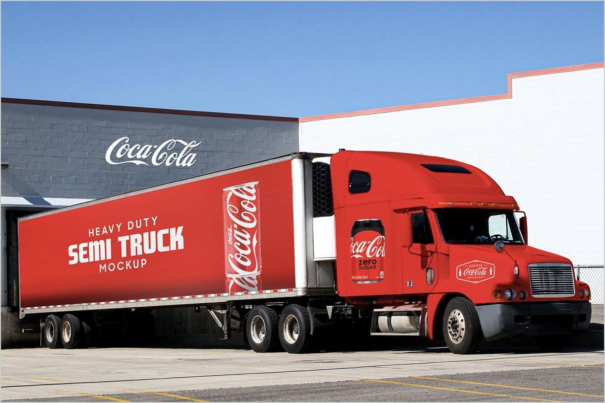 Free-Heavy-Duty-American-Semi-Truck-Mockup-PSD