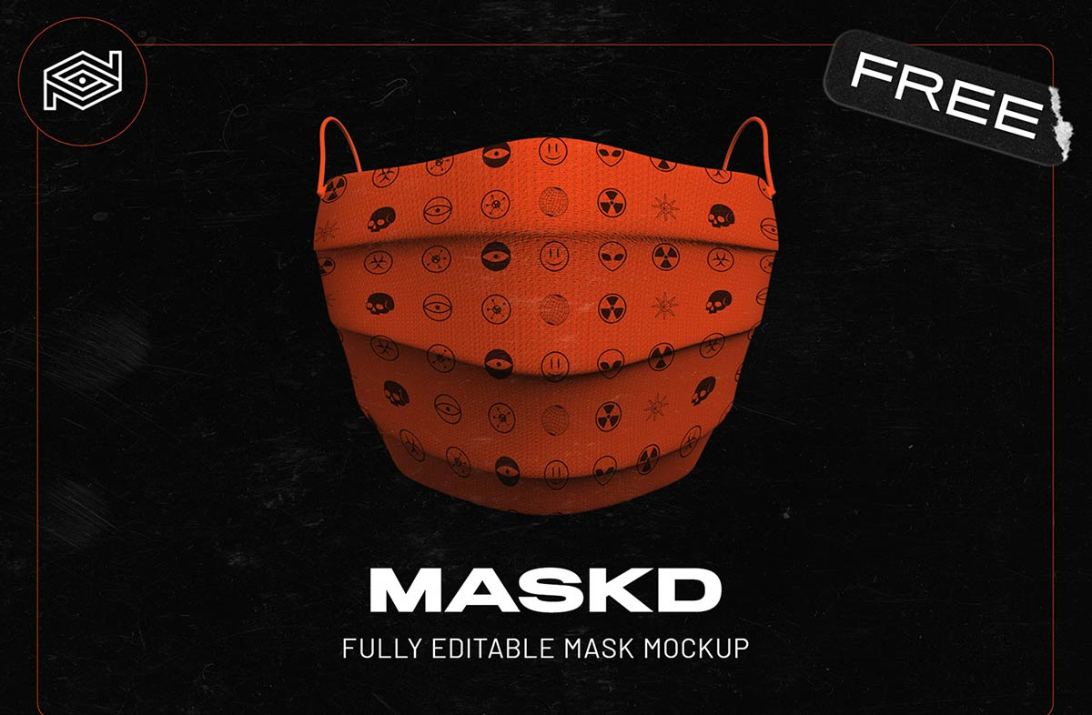 20+ Free Coronavirus (Covid-19) Face Mask Mockup PSD Files ...